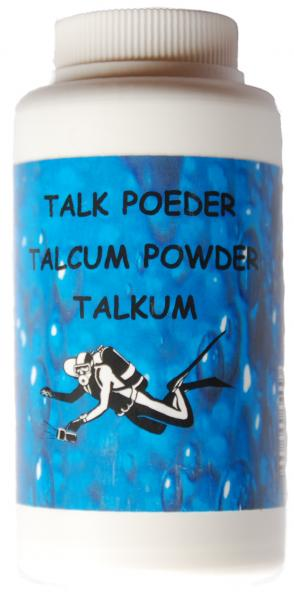 Talcum, for neoprene and latexmaschetten, 120gr