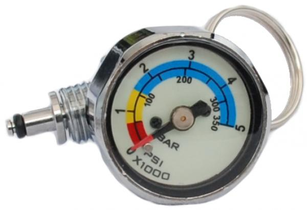 Stage Gauge, pony pressure gauge for HD hose incl. Swivel